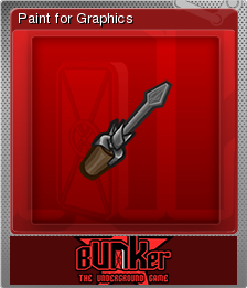 Bunker - The Underground Game Foil 13