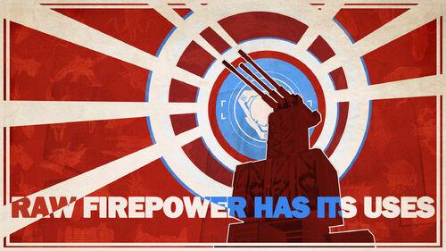 Defense Grid Raw Firepower Has its uses Artwork