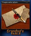 Grandpa's Table Card 05