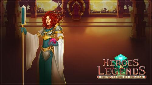 Heroes & Legends Conquerors of Kolhar Artwork 6