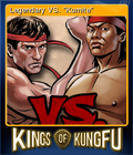 Kings of Kung Fu Card 1