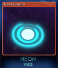 Neon Space Card 3