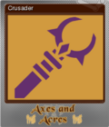 Axes and Acres Foil 3