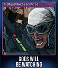 Gods Will Be Watching Card 1