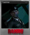 Rambo The Video Game Foil 4