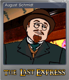 The Last Express Gold Edition Foil 2