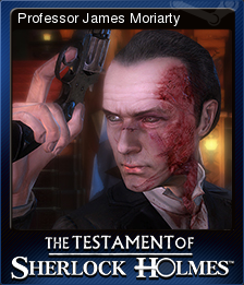 The Testament of Sherlock Holmes Card 5