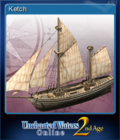 Uncharted Waters Online 2nd Age Card 6
