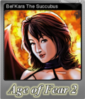Age of Fear 2 The Chaos Lord Foil 1