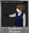 Daughter of Shadows An SCP Breach Event Foil 5