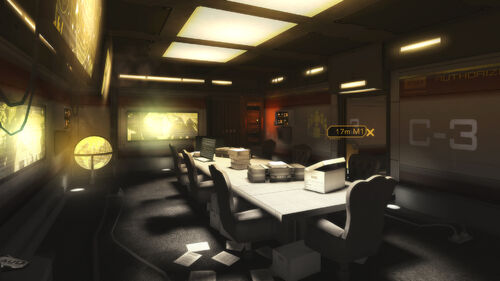 Deus Ex The Fall Artwork 2