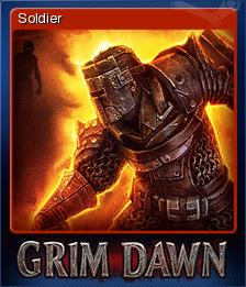 Grim Dawn - Soldier | Steam Trading Cards Wiki | FANDOM