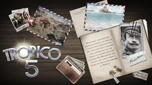 Tropico 5 Artwork 4
