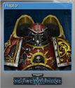 Warhammer 40,000 Space Marine Foil 8