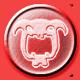Chompy Chomp Chomp Badge Foil