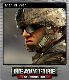 Heavy Fire Afghanistan Foil 2