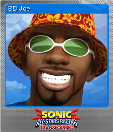 Sonic & All-Stars Racing Transformed Foil 6