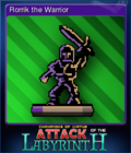 Attack of the Labyrinth + Card 2