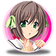 Mahjong Pretty Girls Battle School Girls Edition Badge 2