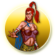 Realms of Arkania 3 Badge Foil