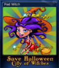 Save Halloween City of Witches Card 02
