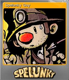 Spelunky Foil 1