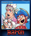 The Incredible Baron Card 1