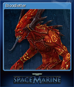 Warhammer 40,000 Space Marine Card 9
