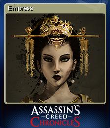 Assassin's Creed Chronicles China Card 1