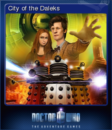 Doctor Who The Adventure Games Card 1