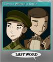 Last Word Foil 3