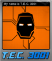 T.E.C. 3001 Card 04 Foil