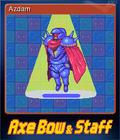 Axe, Bow & Staff Card 4