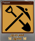 Axes and Acres Foil 5