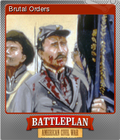 Battleplan American Civil War Foil 4