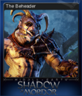 Middle-earth Shadow of Mordor Card 1