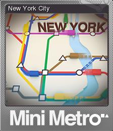 Mini Metro Foil 4