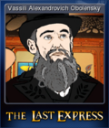 The Last Express Gold Edition Card 1