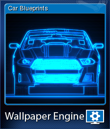 Wallpaper engine car blueprints steam trading cards wiki wallpaper engine card 2 malvernweather Gallery