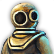 Abyss The Wraiths of Eden Emoticon diver
