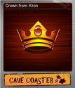 Cave Coaster Foil 04