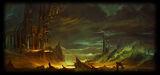 Dogs of War Online Beta Background Dark clouds