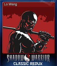 Shadow Warrior Classic Redux Card 6