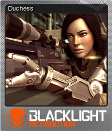 Blacklight Retribution Card 03 Foil