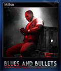 Blues and Bullets Card 6