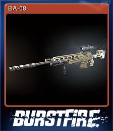 Burstfire Card 5