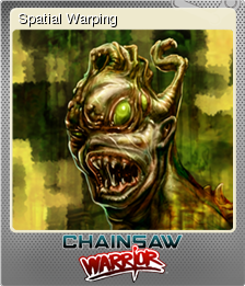 Chainsaw Warrior Foil 6