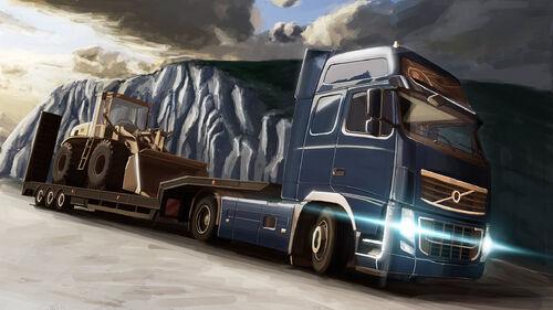 Euro Truck Simulator 2 Artwork 4