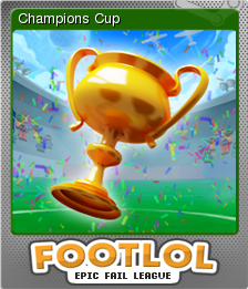 FootLOL Epic Fail League Foil 9
