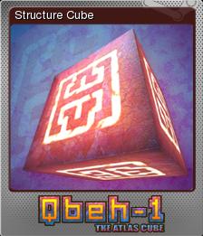 Qbeh-1 The Atlas Cube Foil 1
